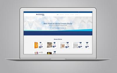 Site - Livraria Shofar