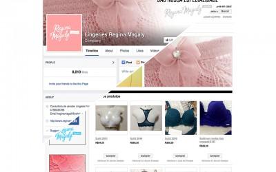 Facebook Fanpage - Regina Magaly