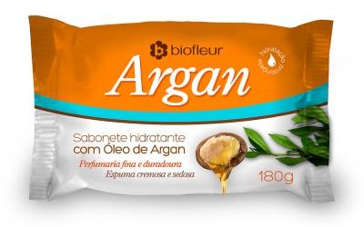 Embalagem Sabonete Argan 180g - Biofleur