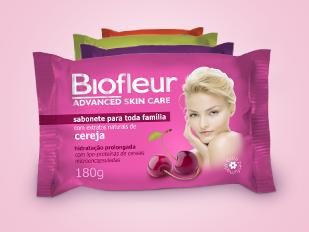 Embalagem de Sabonete - Biofleur