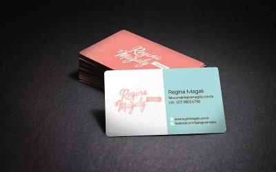 Cartão de Visita - Regina Magaly