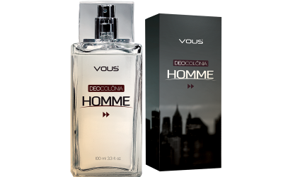 Embalagem Colonia Homme - Vous